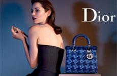 Марион Котийяр – лицо новой рекламной кампании Lady Dior