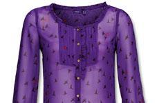 Фирменный цвет бренда Mexx – фиолетовый